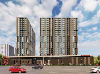 22-этажный монолитный жилой комплекс